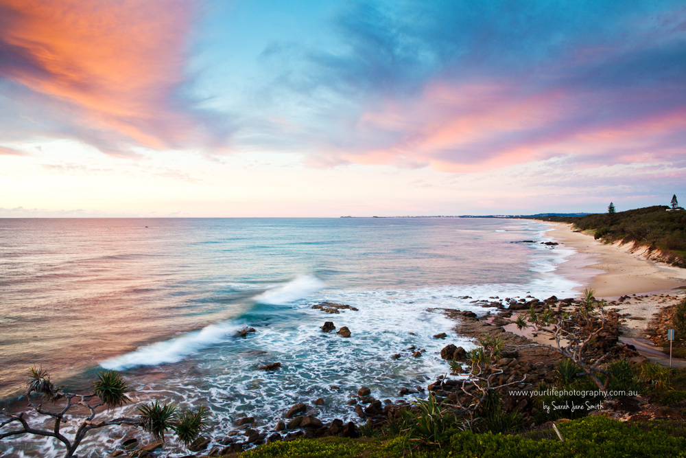 Point Arkwright sunrise, Sunshine Coast