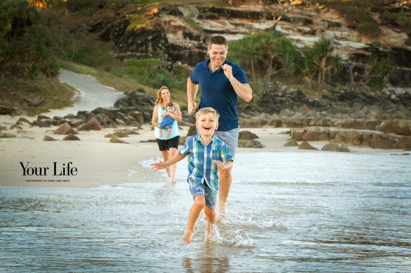 Natural, fun and relaxed family portrait photography